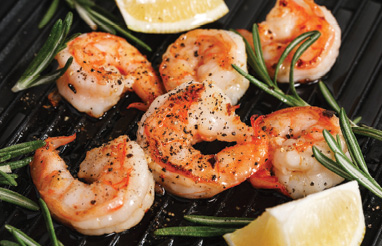 "Simply Delicious: ""Ina Garten has a super easy roasted shrimp cocktail recipe that lets the flavor of the shrimp shine."""
