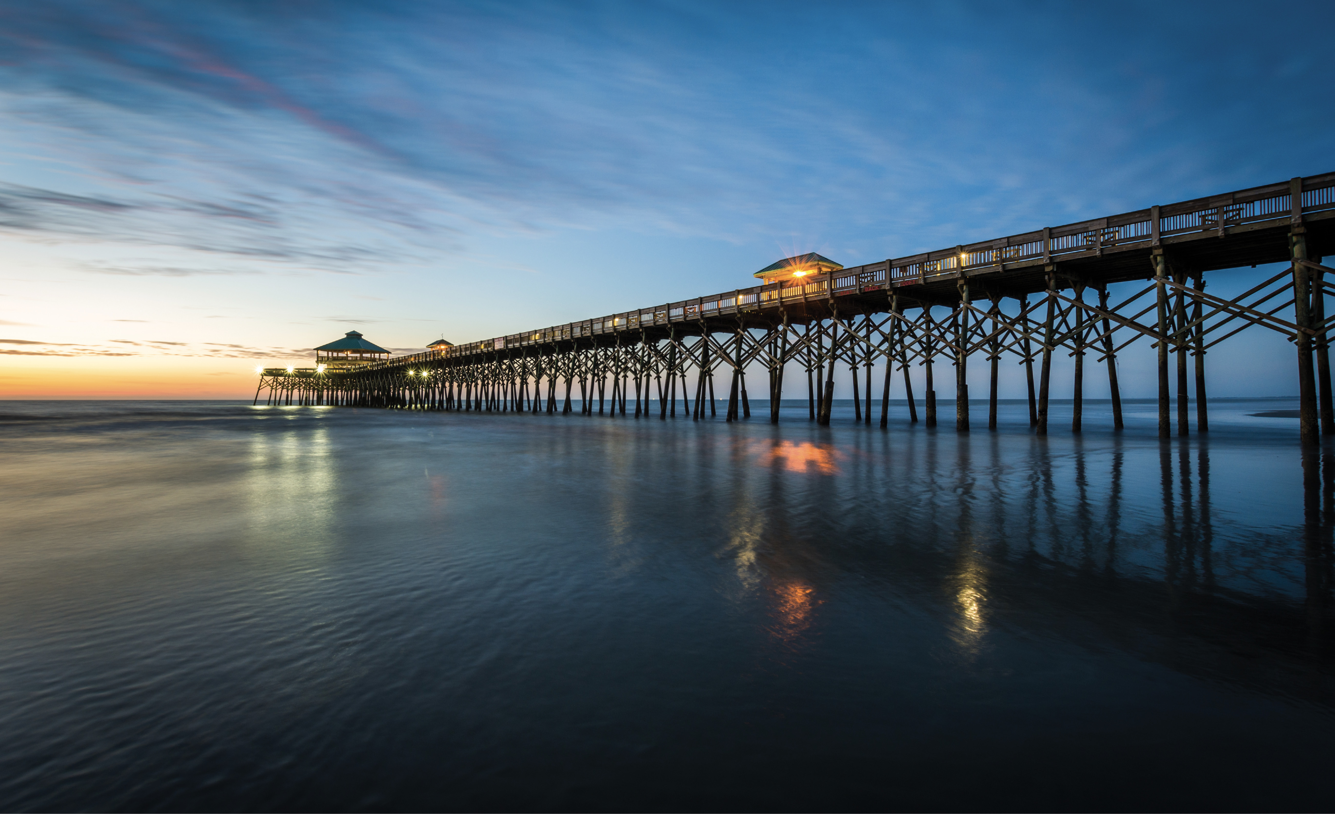 While there are plans to replace the 1,045-foot Edwin S. Taylor Fishing Pier, which opened on July 4, 1995, it will remain open to the public through the summer season.