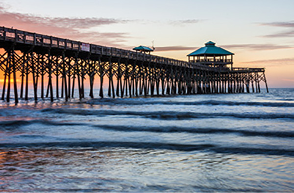 """Beach Days: """"Relaxing, usually on Folly Beach. We don't get to go as much as we'd like, but it's always enjoyable and peaceful.""""—Nate"""