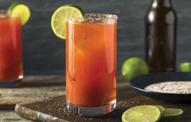 "Salude: ""Micheladas became my go-to drink when I worked for my family's construction company back in Sowega."""