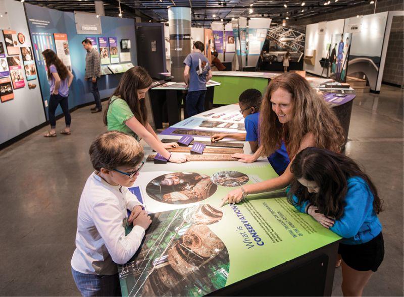 Kids programs at the Warren Lasch Conservation Center