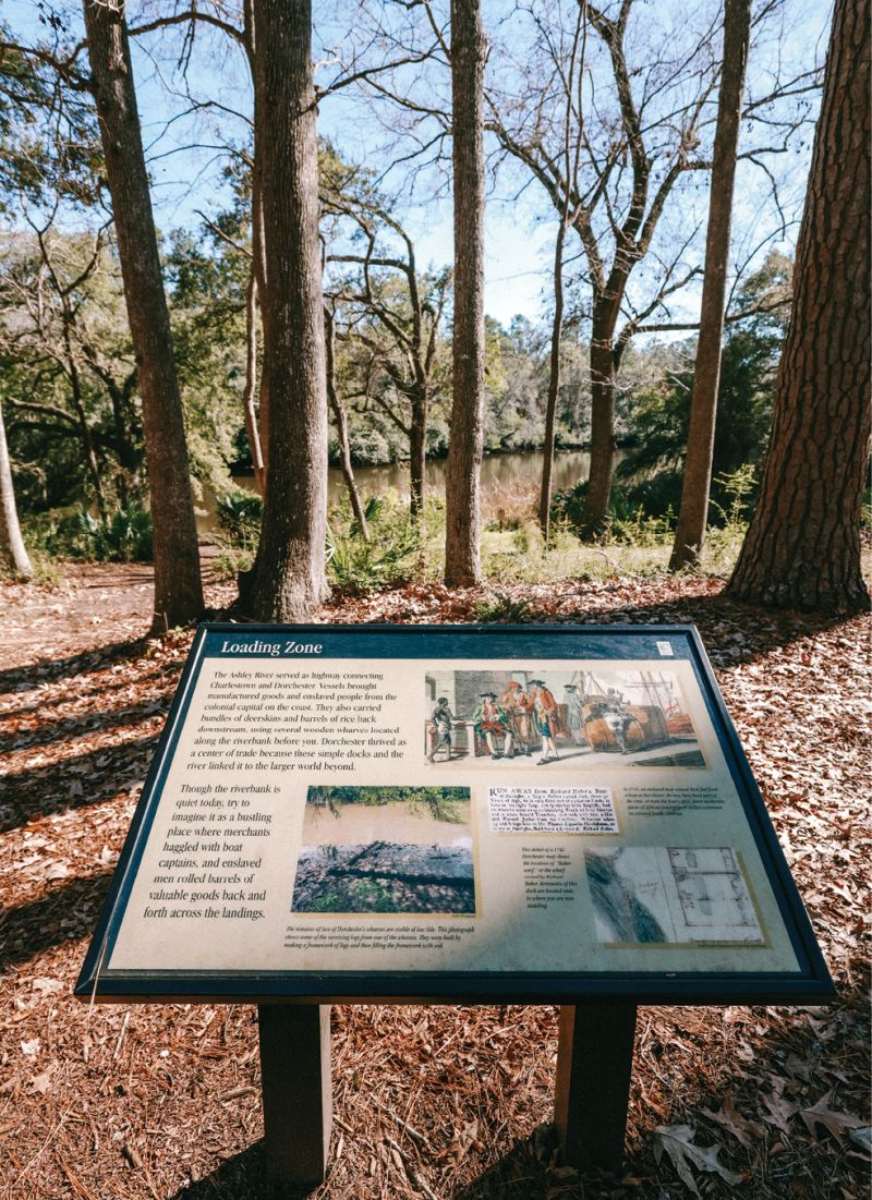 Interpretive exhibits along the trail explain the history of the former village, including the circa- 1751 bell tower, while an active archaeology program continues to reveal the past.