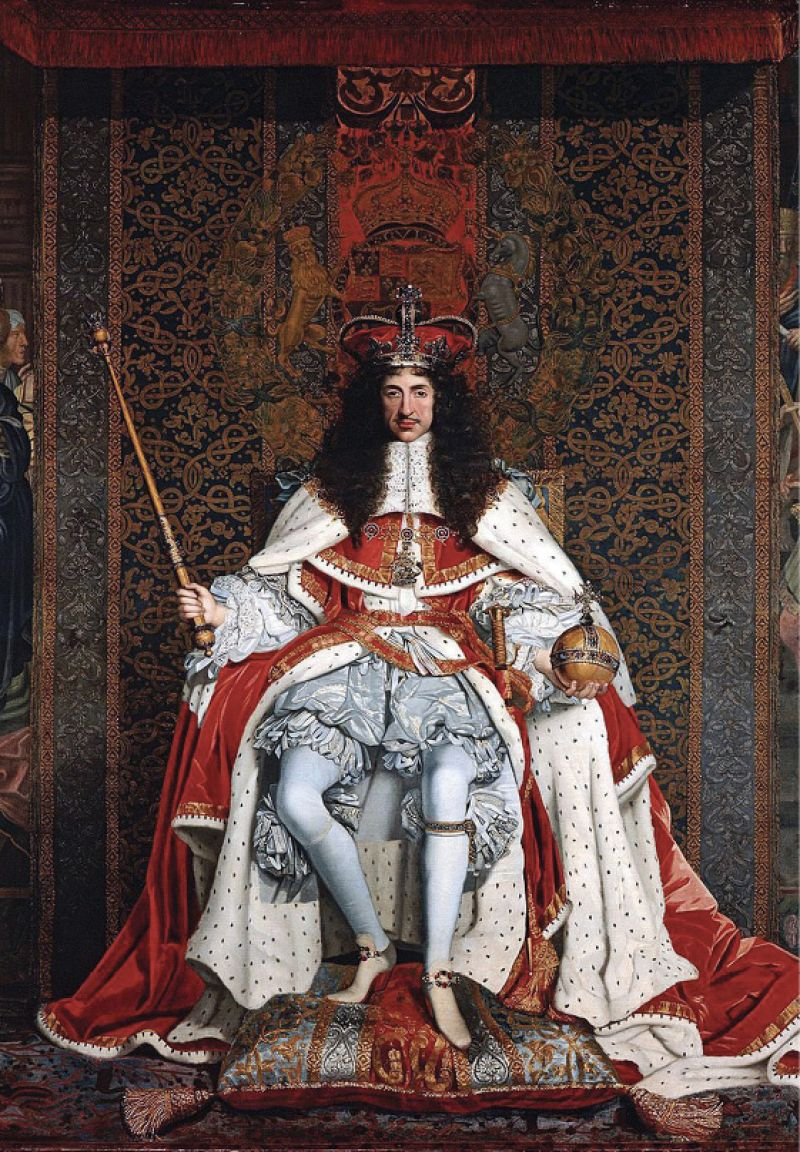 Charleston's namesake, King Charles II