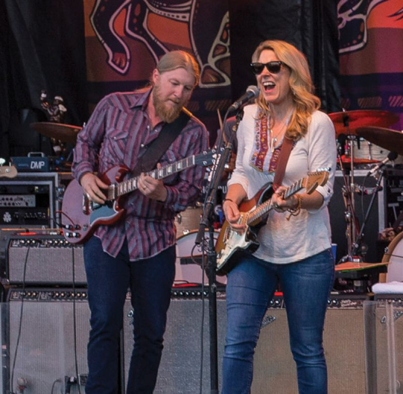 Tedeschi Trucks Band close out around the bend series on June 25 and 26.