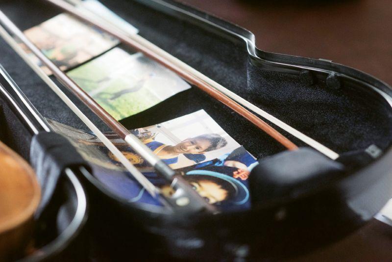 Nuttall's violin case