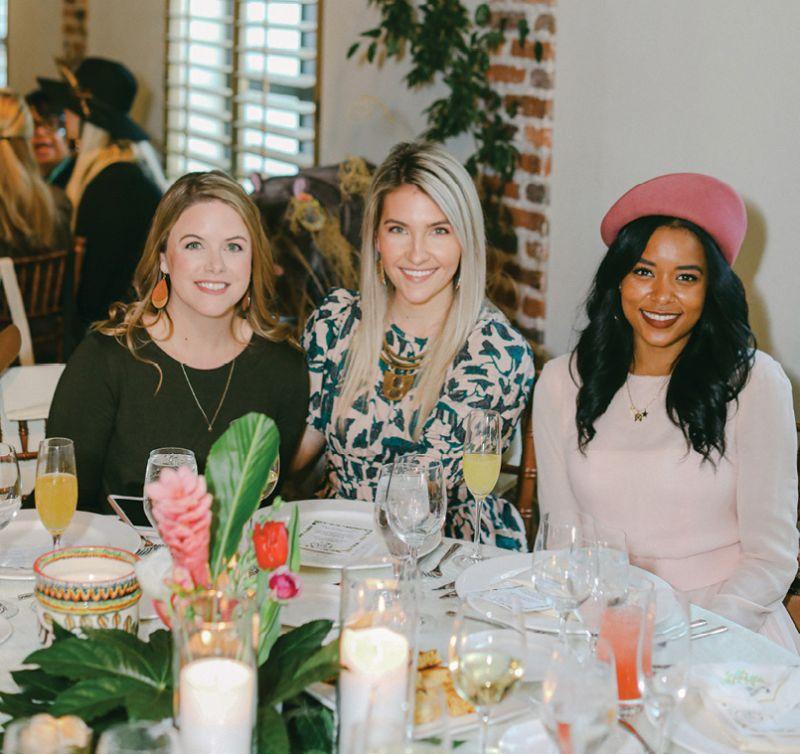 Crystal Scott, Megan Stokes, and Megan Pinckney
