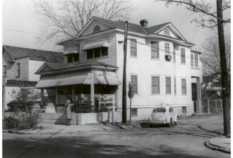 """The family's home at 270 Ashley Avenue was one of many houses and apartment buildings J. Arthur Brown's father built. The home was lost when the Crosstown """"eviscerated an intact black community,"""" says Millicent."""