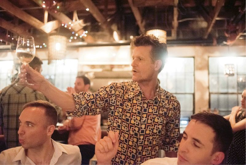 "Late-Night Bites: Post concert, Nuttall and the gang head uptown for dinner at Leon's. It's a favorite, and whenever he needs a spot for a musicians' party (or his and Sohn's 15th anniversary fête), he calls co-owner Brooks Reitz. ""I got to know Brooks when he was at FIG, which is still a chamber music hangout. The food in this town simply can't be beat. How lucky am I to have called Charleston home for three weeks for the past 25 years?"""