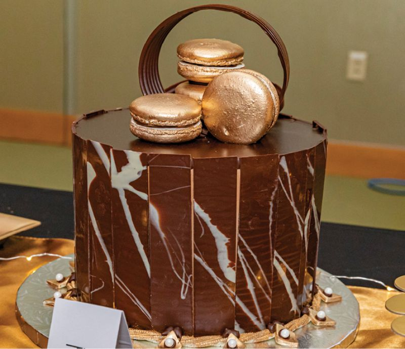 "Luckhaus & Brubaker Sweets & Treats won the ""Most Delectable"" award in the dessert contest."
