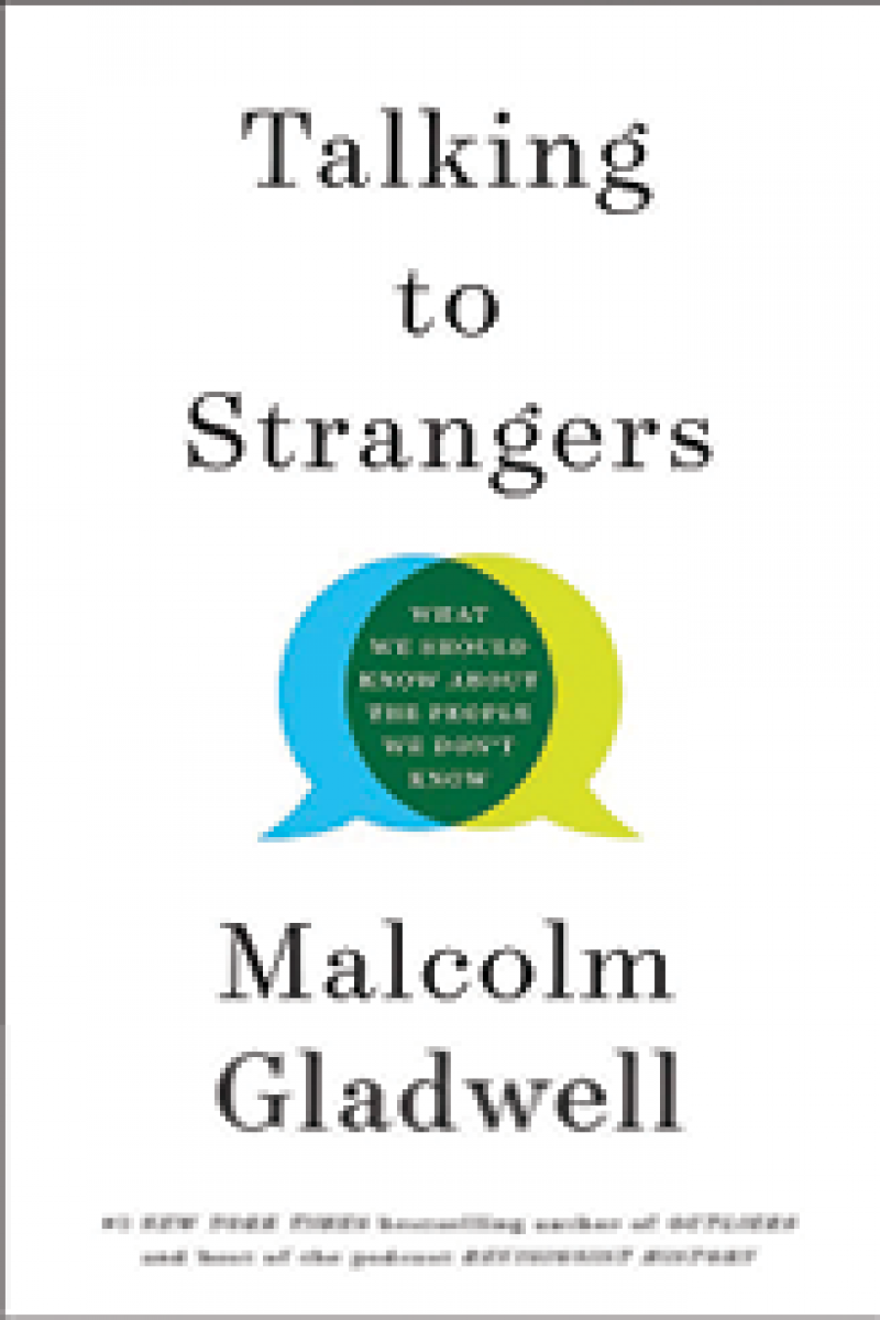 """Page Turner: """"I'm an avid reader. Right now, I'm working through Malcolm Gladwell's collection of short stories, Talking to Strangers. I also really like historical writers David McCullough and Kristin Hannah."""""""
