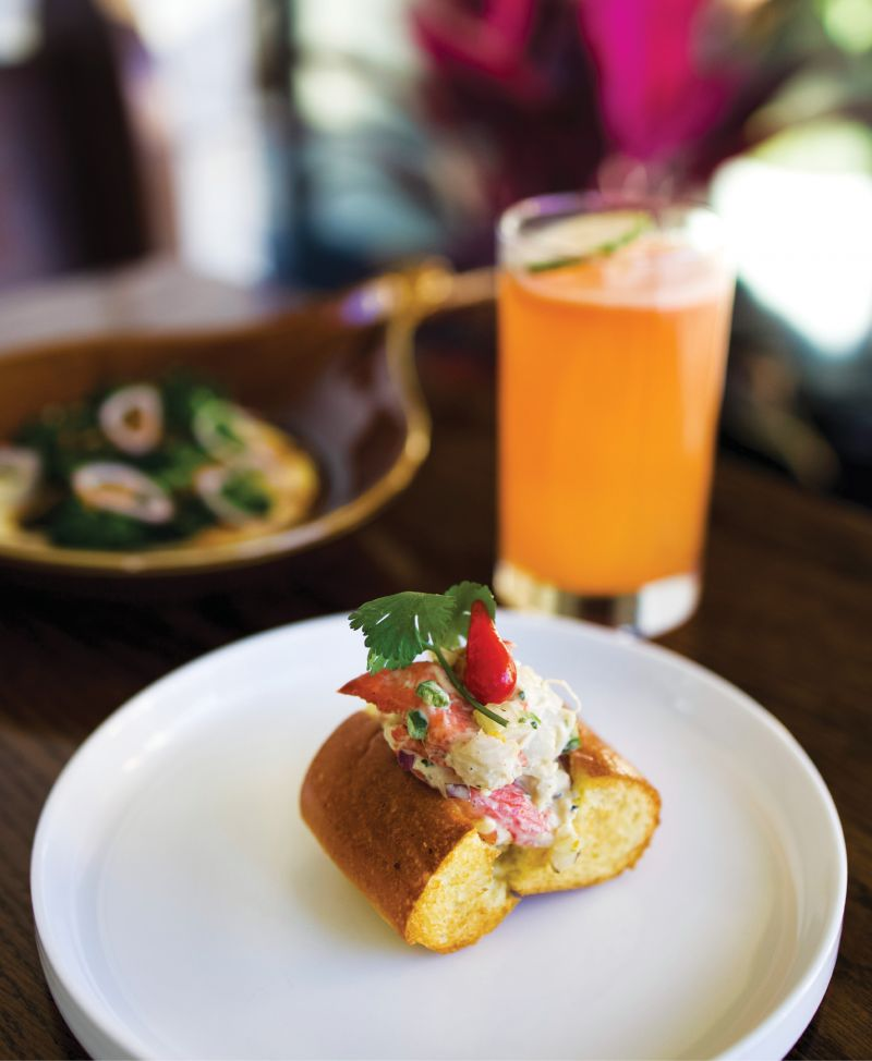 Lobster rolls and Chili dogs, oysters Rockefeller and beanie weenies: the high-low offerings at James Island hot spot Bar George