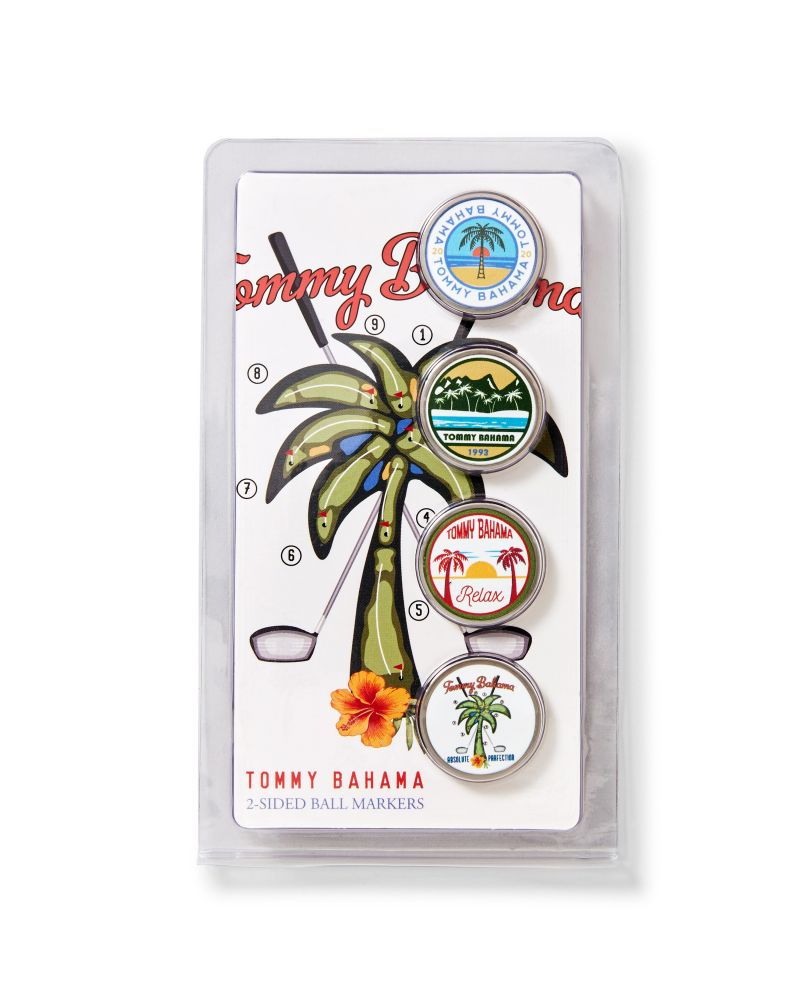 "Tommy Bahama ""Absolute Parfection Ball Markers,"" $17 at Tommy Bahama"