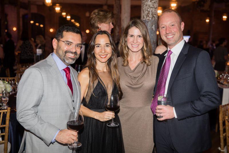 Marco and Kat Corona with Ben and Sarah DeWolf