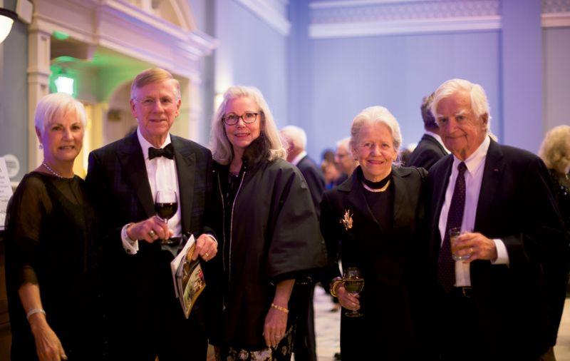 Barbara Boone, Bill Hewitt, Karyn Lee, and Ann and Dick Keigher