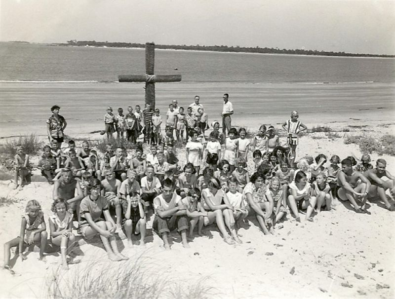 In keeping with Victor's wishes, Marjorie leased a portion of their Seabrook Island property to the Episcopal Diocese of South Carolina as a recreation spot for boys for one cent a year.