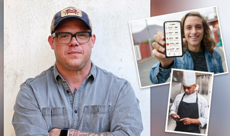 Chef Ben Ellsworth launched the Gigpro food-and-beverage jobs app in Charleston just before the pandemic. Now, it's filling shifts in multiple cities, including Charlotte and Nashville.