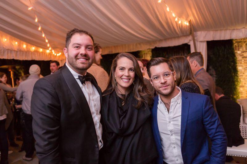 Blake Sams, Lizzie Armstrong, and Patrick Navarro