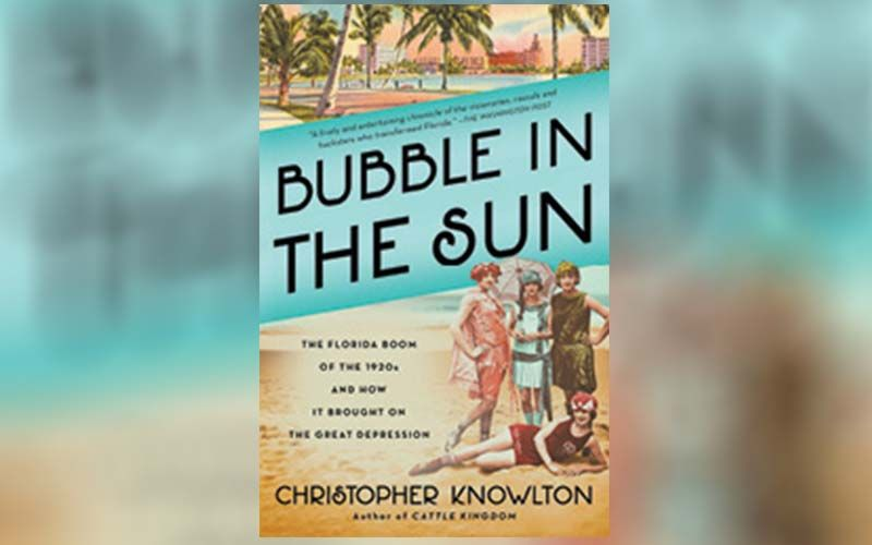 """Well Read: """"I like people who can suggest a good book. Right now, I'm reading Bubble in the Sun, about the Florida boom in the 1920s."""""""