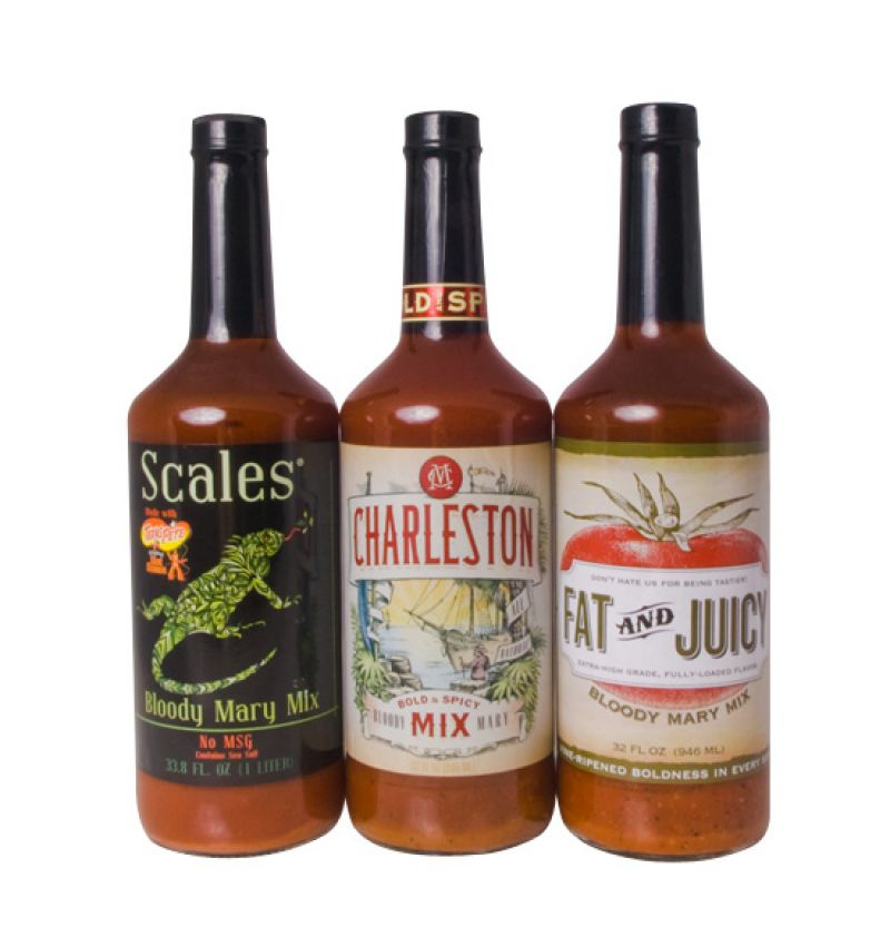 """Scales Bloody Mary Mix, $5.99, <a href=""""http://www.scalescocktails.com/products/scales-low-sodium-bloody-mary-mix"""">http://www.scalescocktails.com/products/scales-low-sodium-bloody-mary-mix</a>"""