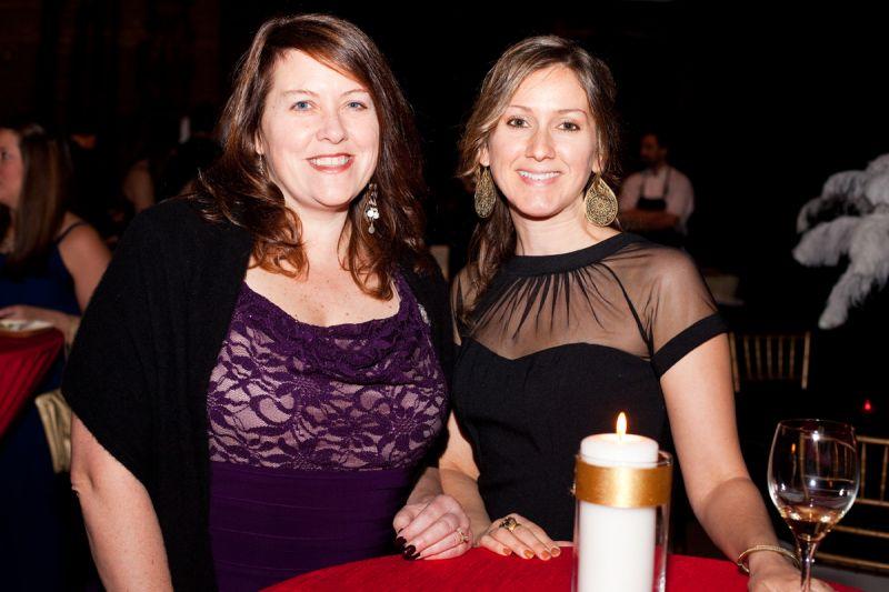 Amy Grow and Melanie Chambers