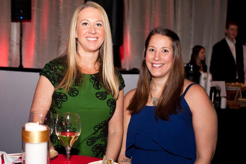 Jill Lovins and Kimberly Schmolze