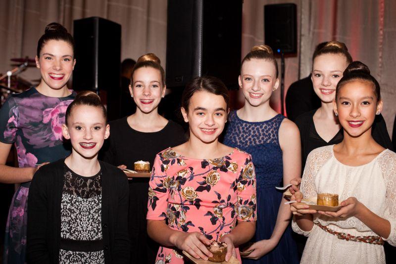 Ballerinas Meagan Horres, Gracen Nelson, Allie Horres, Katie Fulmur, Macy Roberts, Abby Haynes, and Caitlyn Hall