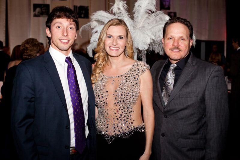 Board member Matt Pecoy, founder and chairman Whitney Ringler, and contributor Dennis Mallon