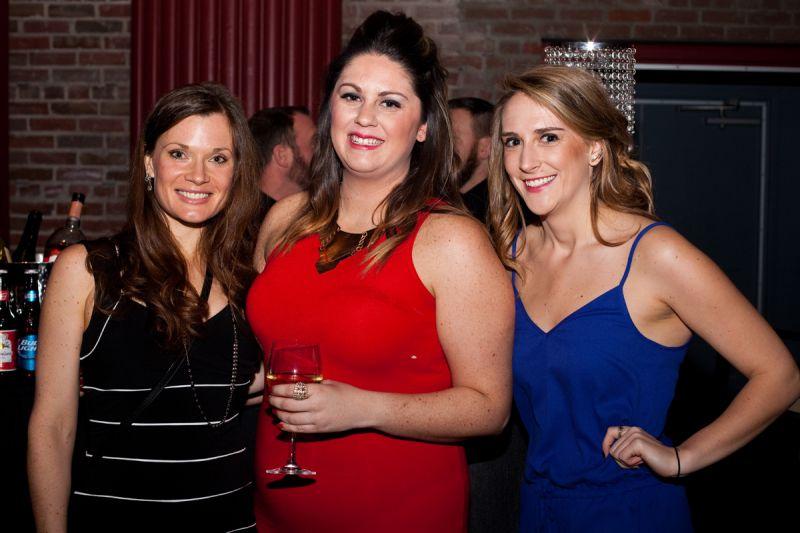 Lauren Zimmerman, Shannon Goherty, and Katie Hetrick