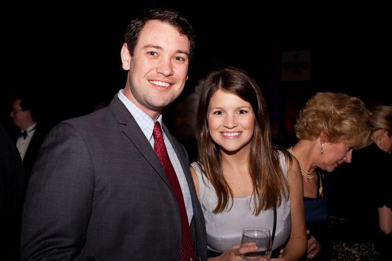 Ted Corvey and Danielle Nye