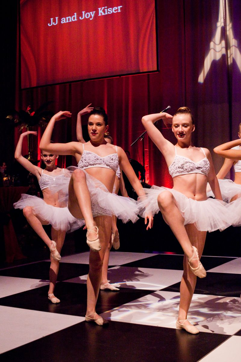 Ballerinas from the Charleston Dance Center performed to a medley of songs from the Moulin Rouge soundtrack.