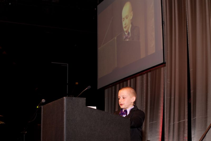 Chase Ringler, a neuroblastoma survivor, inspired everyone with his bravery and spirit.
