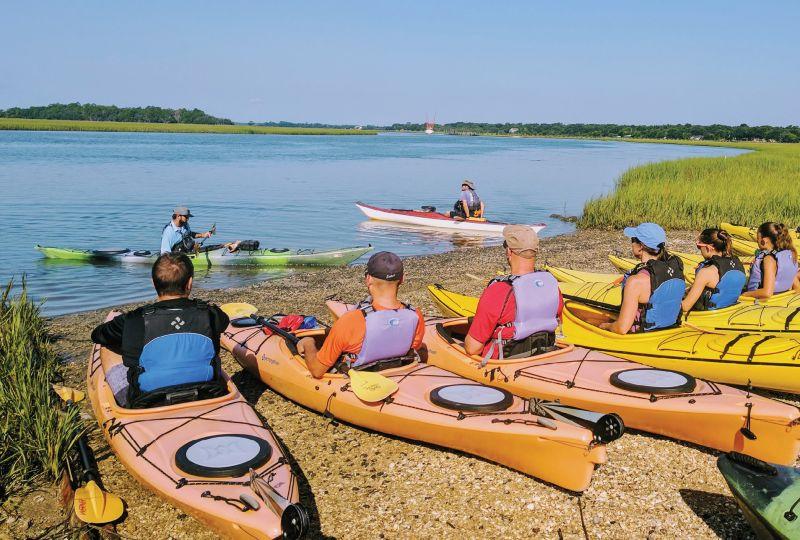 Kayaking 101 with Charleston Outdoor Adventures