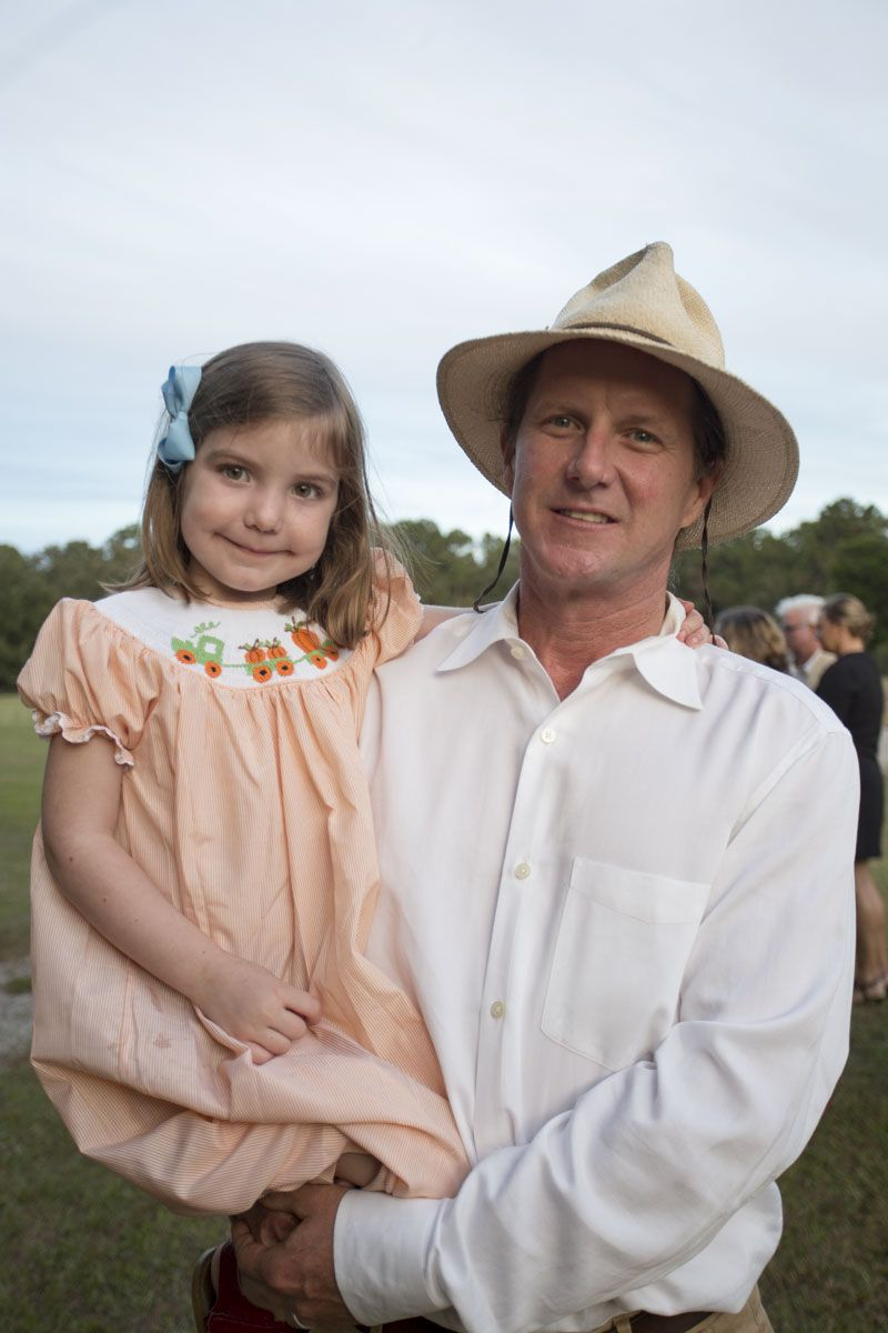Chris Crolley of Coastal Expeditions with daughter Olivia