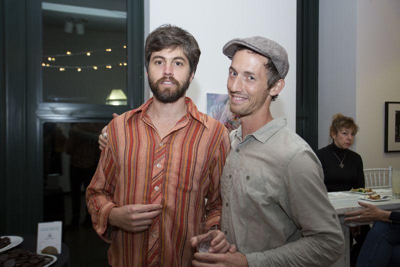 Musicians Joel T. Hamilton and Ian Gleason