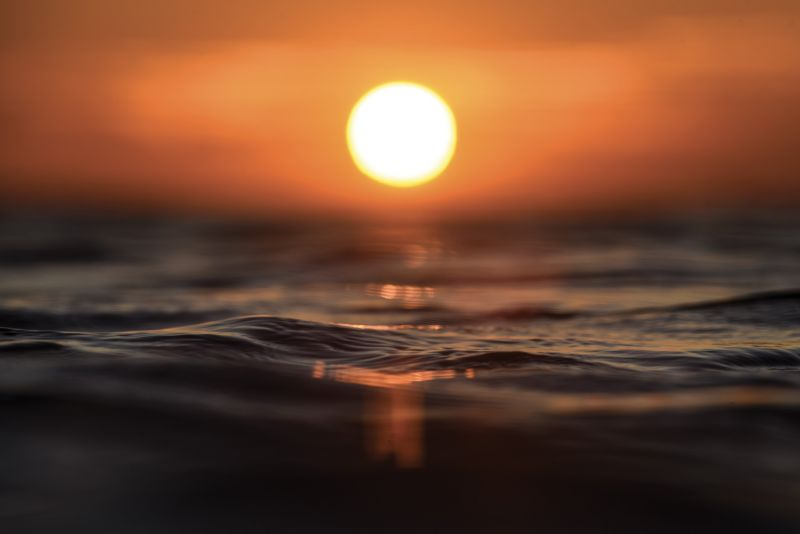 A summer sunrise