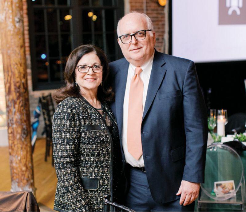 Anita Zucker and David Popowski