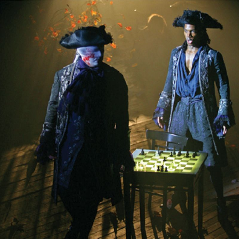 Redden, who developed a love of opera as a young boy in Italy, has encouraged bold and often edgy productions, including Don Giovanni (pictured here in 2006), starring (left) Andrey Telegin and Nmon Ford.