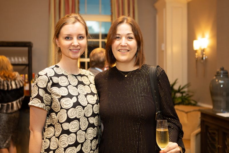 Festival Director of Marketing and PR Jessie Bagley and Festival Director of Artistic Planning and Operations Nicole Taney