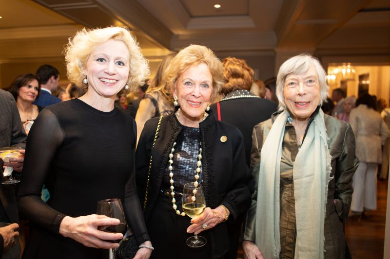 Betsy Fleming, Martha Rivers Ingram, and Elizabeth Rivers Lewine