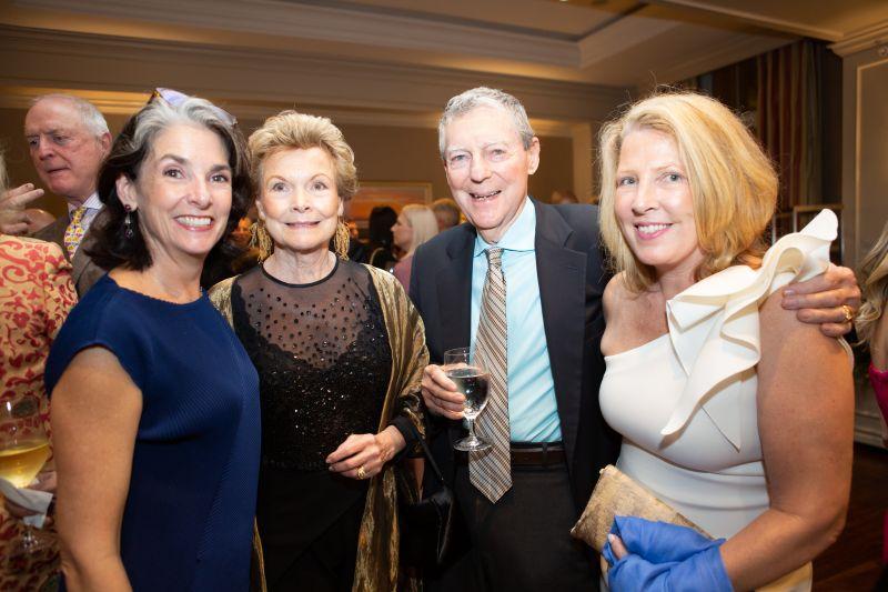 Susan, Susan, and Luke Simons with Betsy Wills