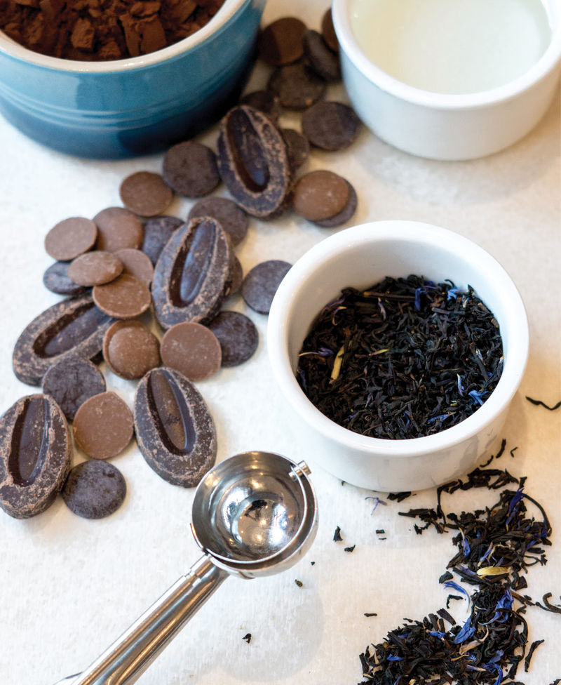 While cornflower petals bestow this tea with flecks of fetching royal blue, Earl Grey is most recognizable for its bergamot flavor—a uniquely floral character that makes an intriguing addition to a number of desserts.