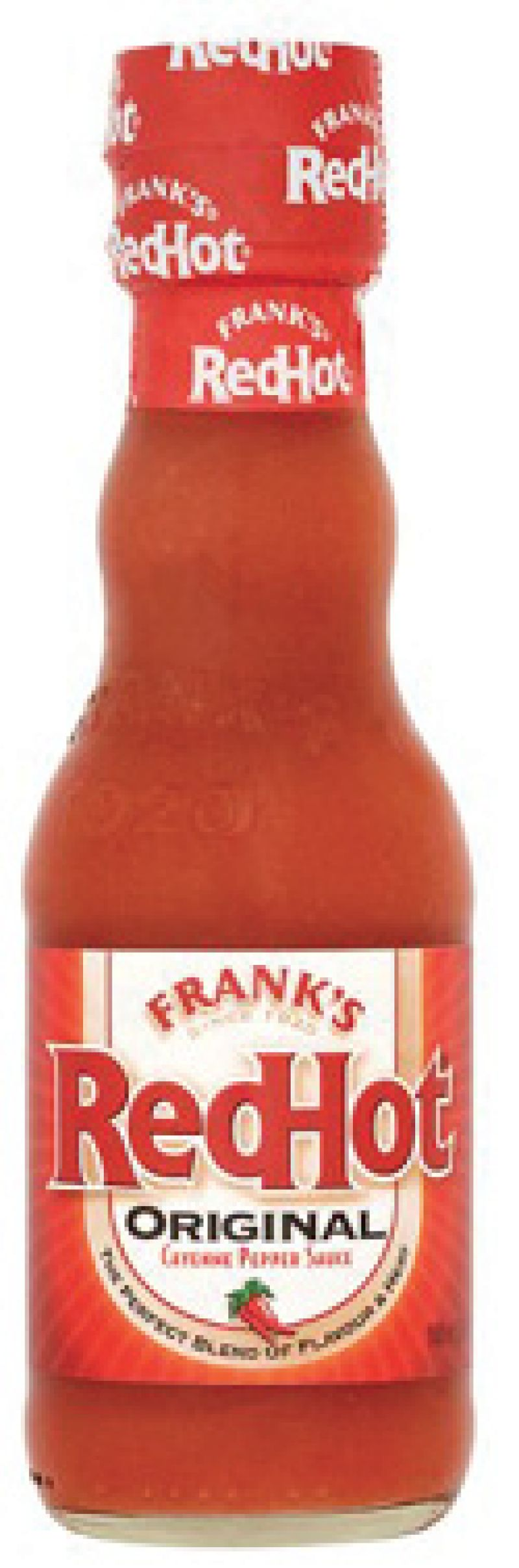 """Choice Condiment """"Frank's hot sauce is my favorite 'ingredient.' I put it on everything—whether it needs it or not!"""""""