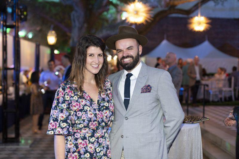 Lauren Daniels and Ben Mack
