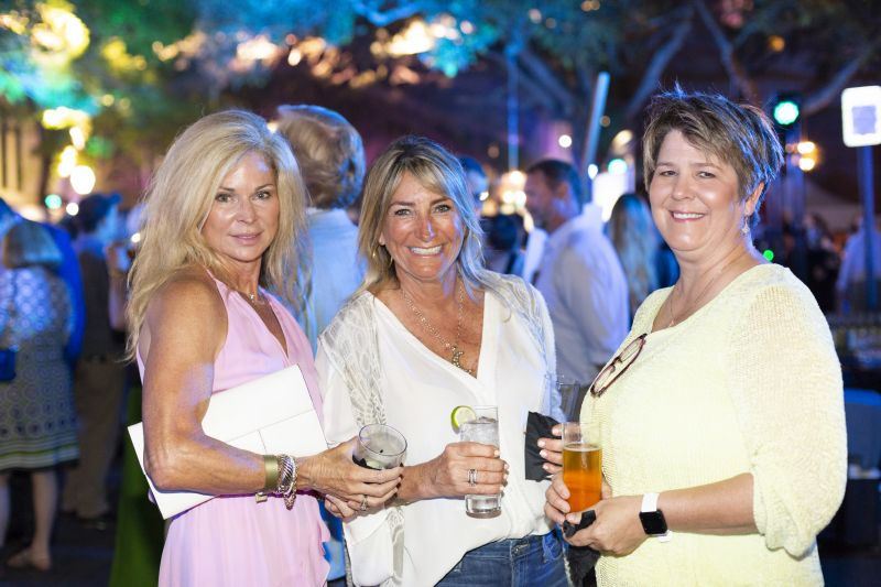 Suzanne Sawyer, Leslie Benson, and Amy McNaughton