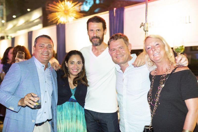 Ed Shehab, Yanira Giardini, John Duckworth, Pietro Giardini, and Tracy Shehab