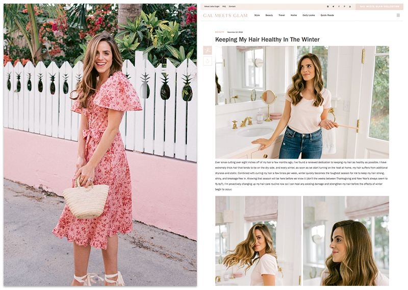 59e9b4046c03 Julia Engel grew her lifestyle blog into a collection of classic, feminine  clothing that's catching commercial appeal. Julia Engel in the Gal Meets  Glam ...