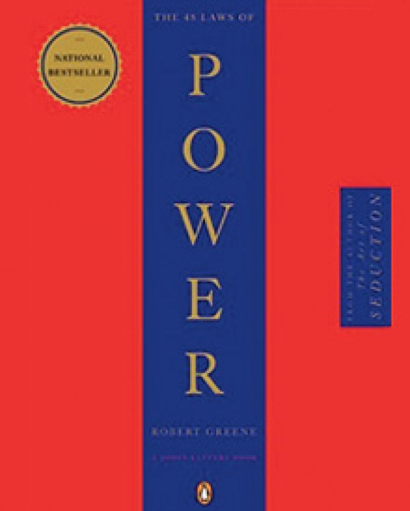"""Strictly Business:  """"Every day, I try to read a chapter of 48 Laws of Power. When I don't, I feel like I'm lagging."""""""
