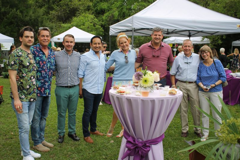 Nick Liebl, Bobby Shealy, Larry James, Jesus Meza, Meredith Siemens, Clint Allen, and Buck and Laurie Inabinet