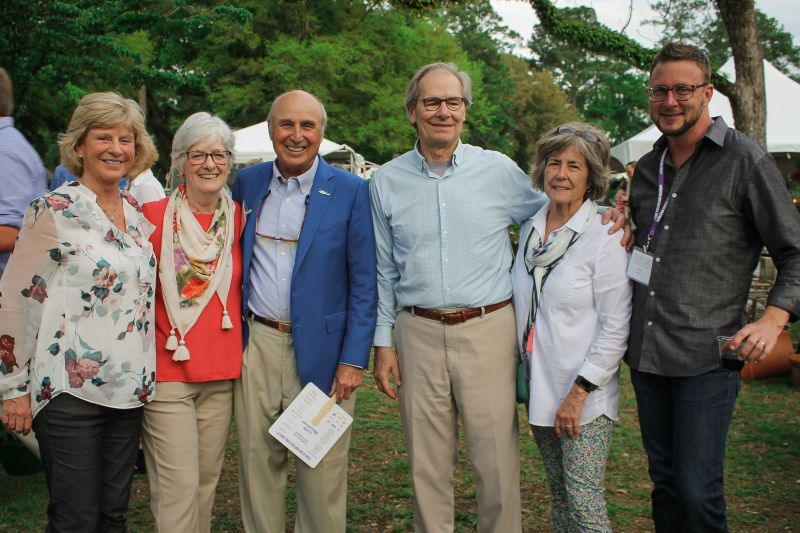 Kathy Wade, Janette Anderson, Randall Robinson, Barry and Beverly Gumb, and Brad Goshorn