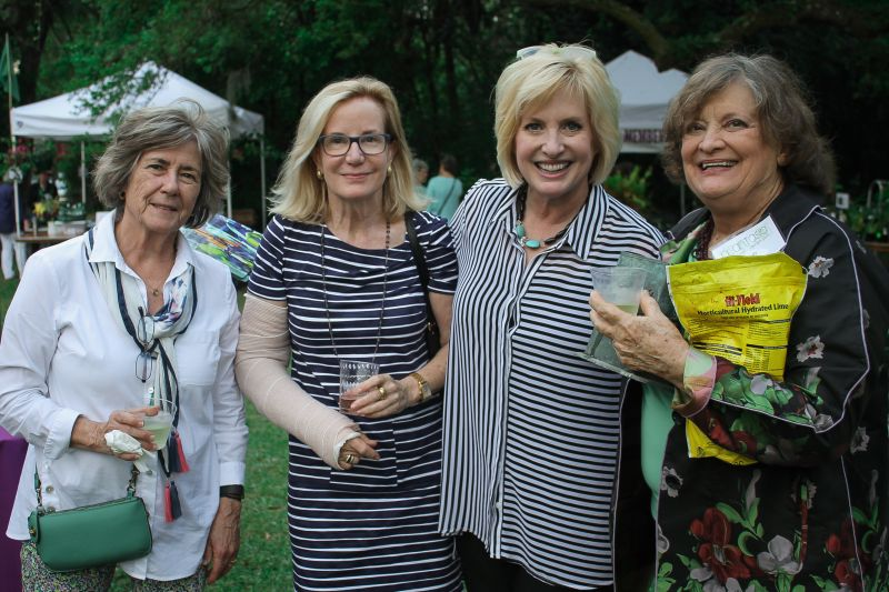 Beverly Gumb, Anne Brown, Leslie Brady, and Judy Hines